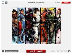 Street Fighter IV Jigsaw game