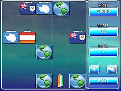 World Flag Memory - 1 game