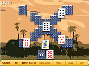 Play Oasis solitaire Game