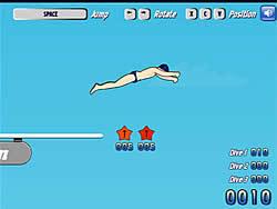 玩免费游戏 High Dive Hero