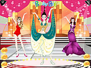 Miss World Dress Up game