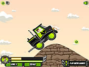 Play Ben 10 xtreme truck Game
