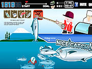Play Sushi fishing Game