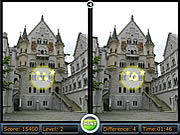 Spot the difference - castles