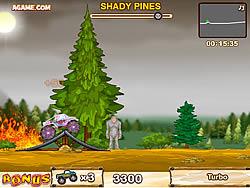 Monster Truck VS Forest game