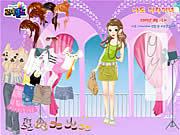 Short cute dress Spiele