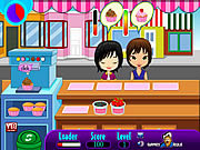 Play Cupcake shop Game