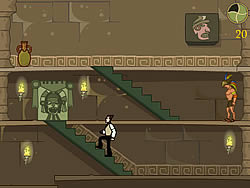 Houdini: The Temple of the Serpent game