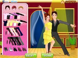 Ballroom Dance Dressup game