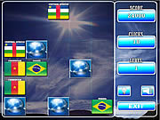 Play World flag memory-3 Game