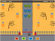 Zombowling Game game