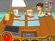 Play Hot burger hot Game