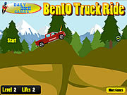 Play Ben 10 truck ride Game