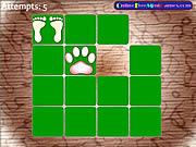 Animal footprint pairs Gioco