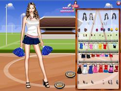 Cheerleader Dress Up Game game