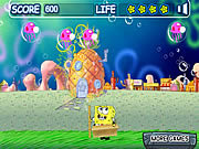 Play Spongebob bubble pop Game