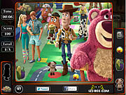 Toy Story 3 - Hidden Objects game
