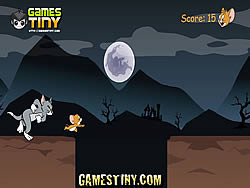 Tom And Jerry Halloween Run game