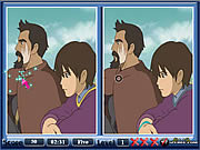 Play Tales from earthsea spot the difference Game