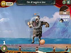 Land Lobber game