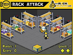 A-Safe Rack Attack game