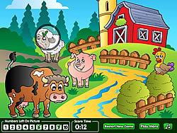 Hidden Numbers Sweet Farm game
