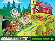 Play Hidden numbers sweet farm Game