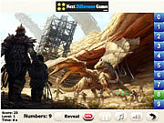 Play Azure dragon find numbers Game