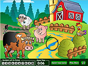 Play Farm hidden numbers game Game