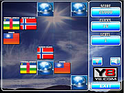 Play World flag memory game 3 Game