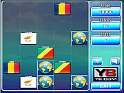 Play World flags memory game 4 Game