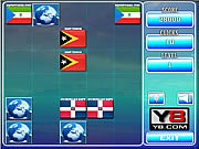 Play World flags memory game 5 Game