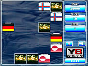 Play World flags memory game 6 Game
