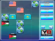 Play World flags memory game 8 Game
