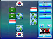 Play World flags memory game 9 Game