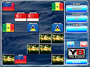Play World flags memory 14 Game