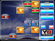 Play World flags memory 15 Game
