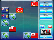 Play World flags memory 16 Game