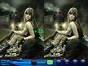 Play Mirage 5 differences Game