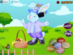 Easter Rabbit Dressup game