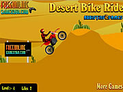 Play Desert bike ride Game