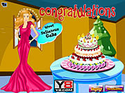Play Cooking barbie cake Game
