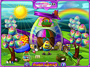 Play Easter egg house clean up Game