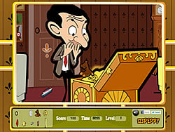 Juega al juego gratis Mr Bean - Hidden Objects