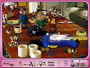 Alvin and the Chipmunks - Hidden Objects game