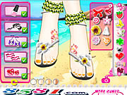 Play Beautiful feet show Game