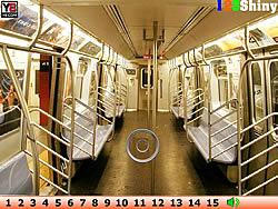 Hidden Numbers Train game