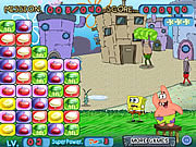 Play Spongebob squarepants - flying plates Game
