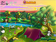 Play Toto s camping trip Game