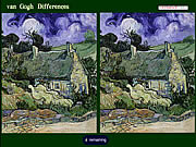 Play Van gogh differences Game